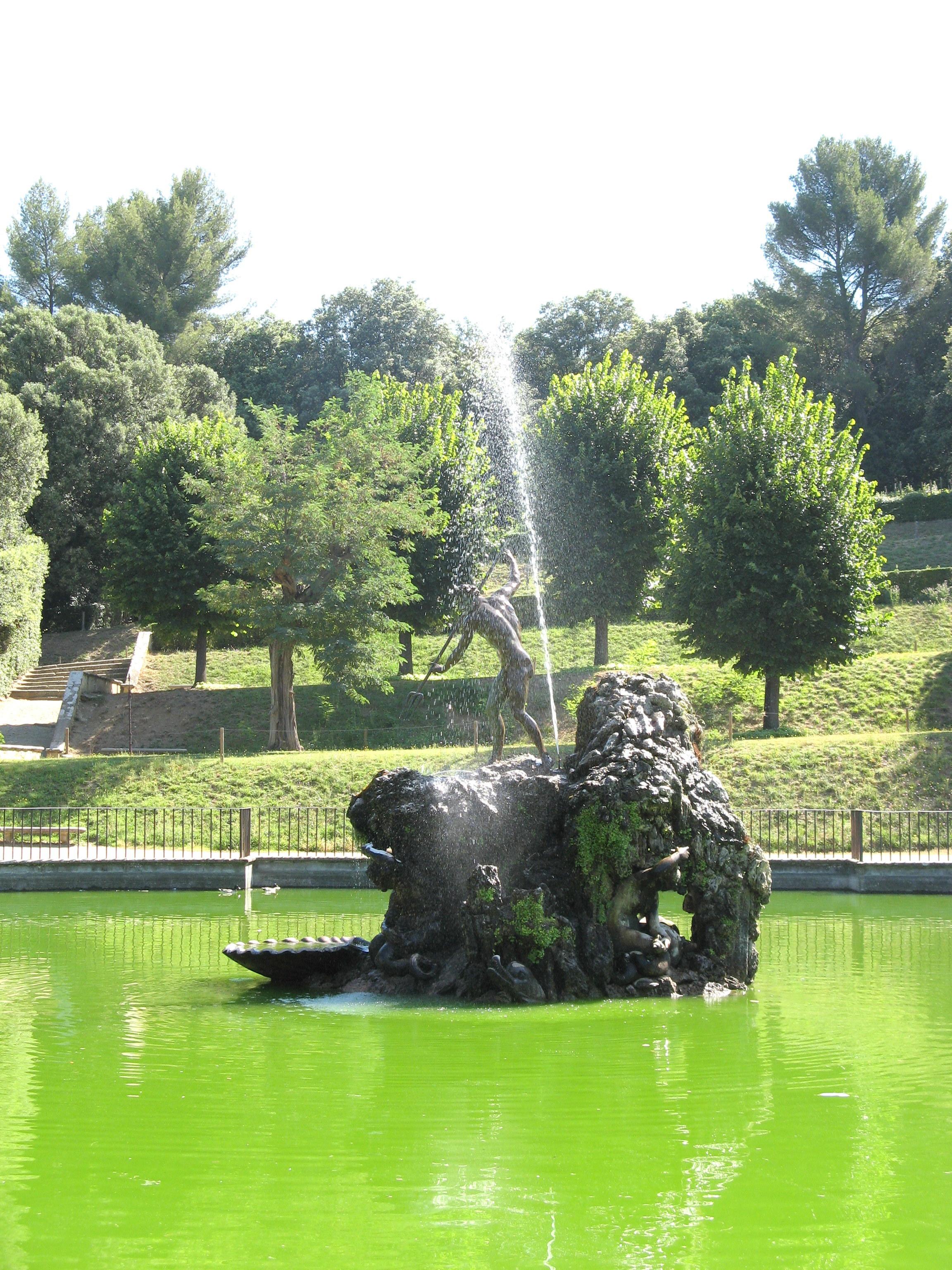 Boboli Gardens fountain