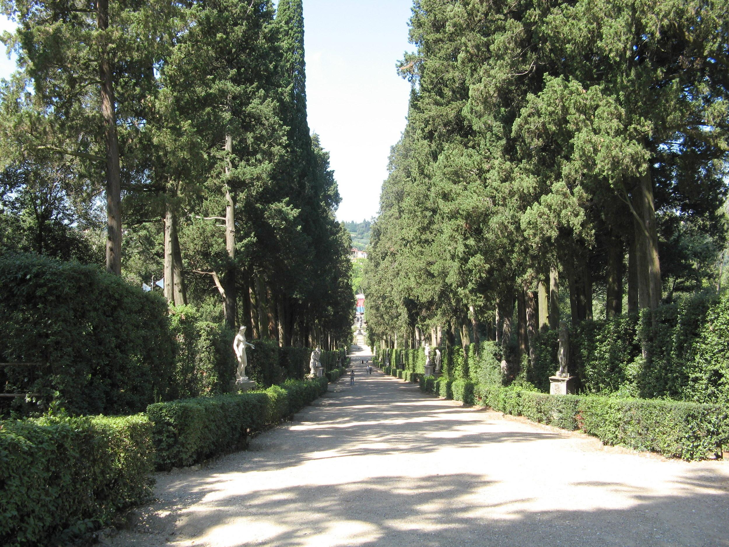 Boboli Gardens pathway