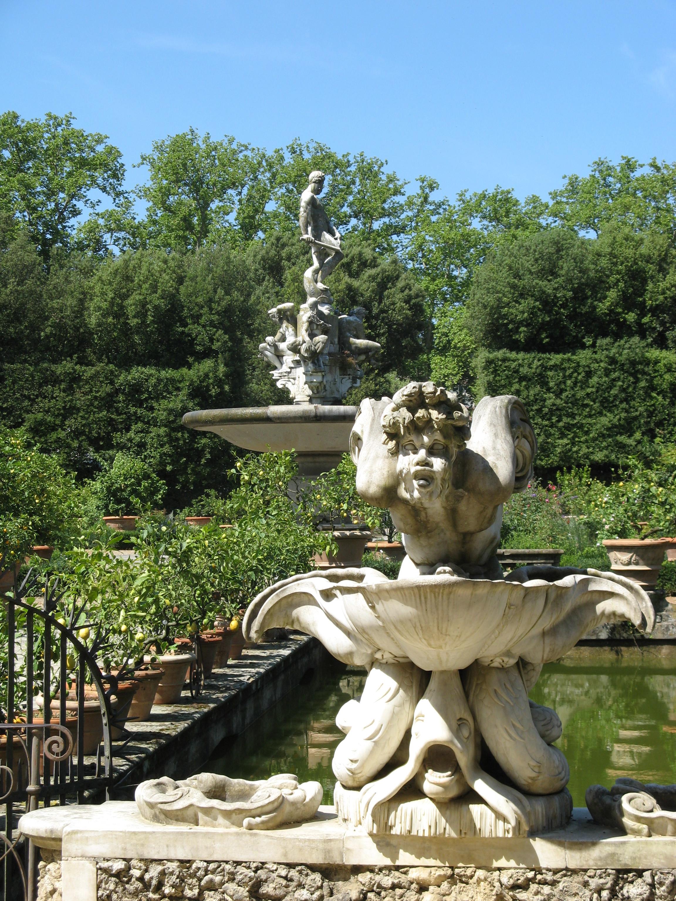 Boboli Garden statues