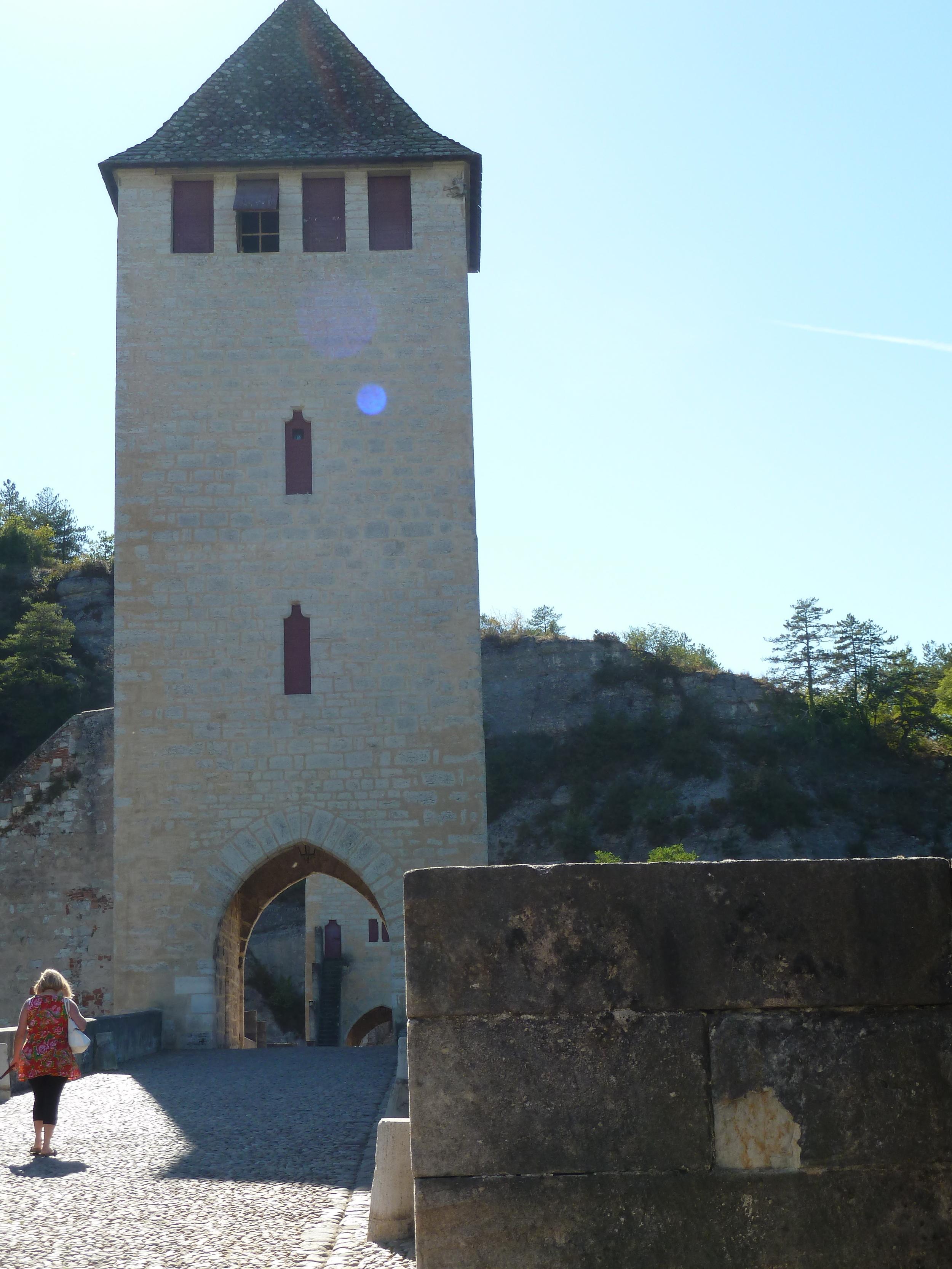 Pont Valentré devil, Cahors