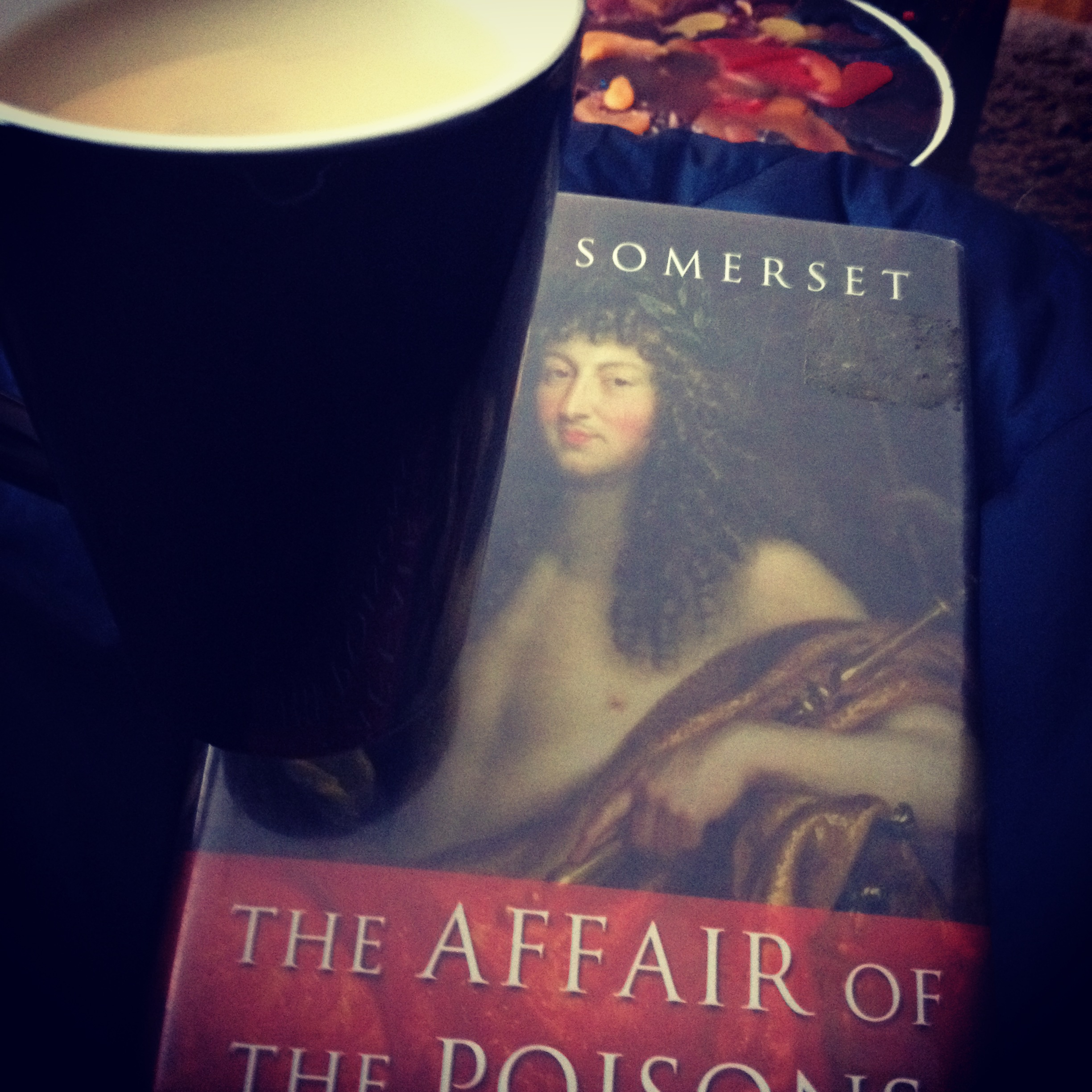 Cozied up with a tea, blanket, and interesting history. Is there anything better in winter?