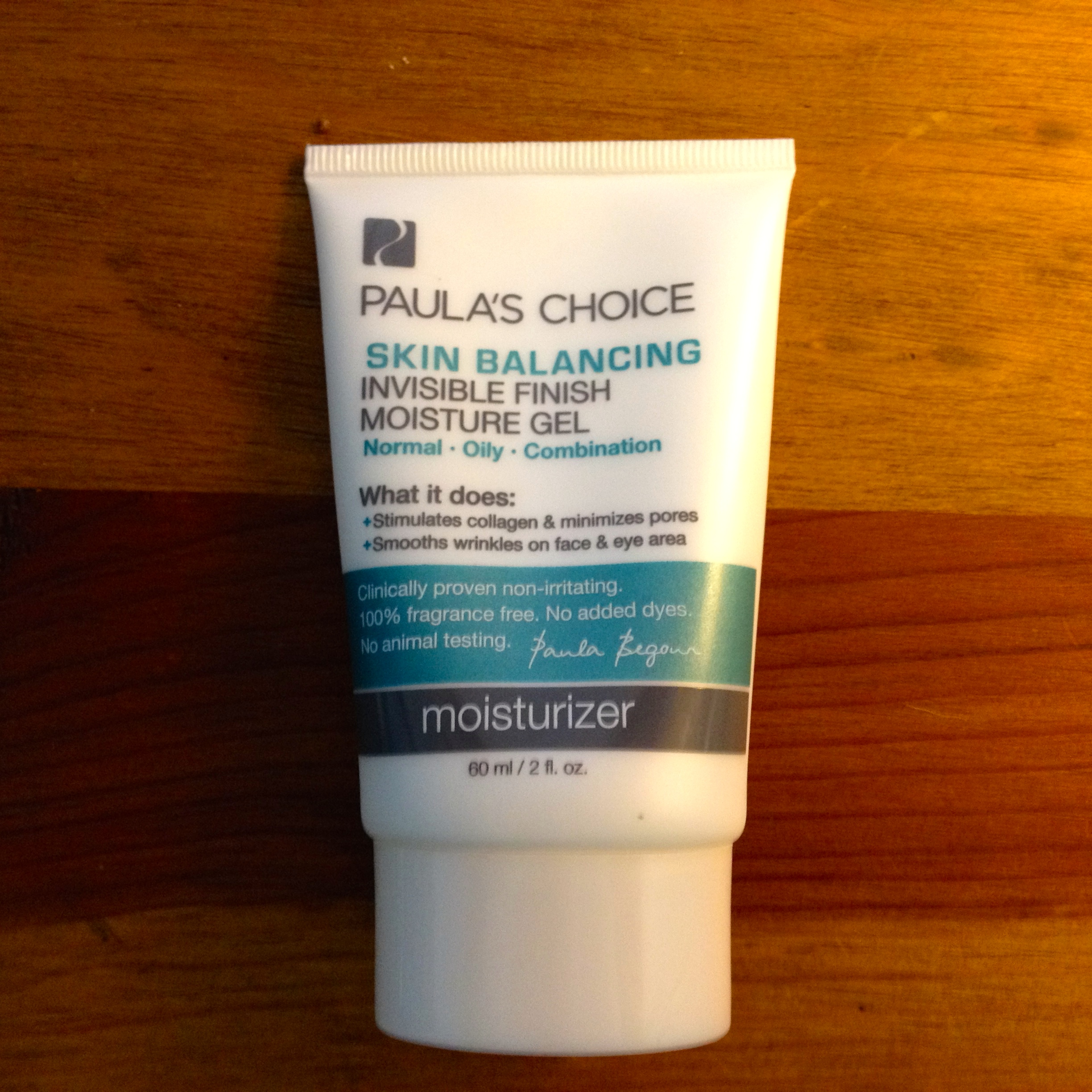 Paula's Choice Skin Balancing Invisible Finish Moisture Gel | $26.00