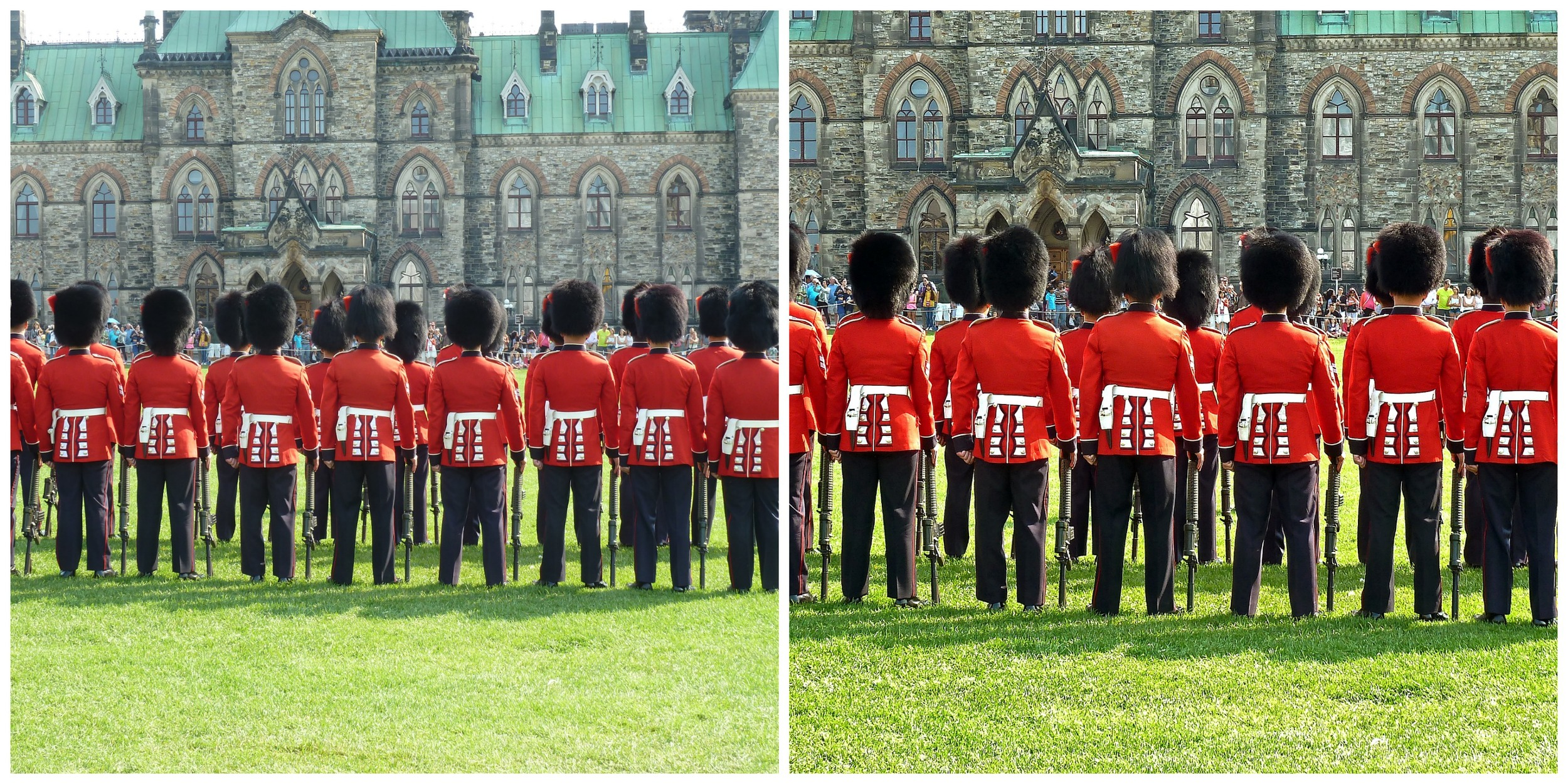 A before and after of one of my Ottawa photos using Pixelmator. Some croping and color correction goes a long way, even for a beginner.