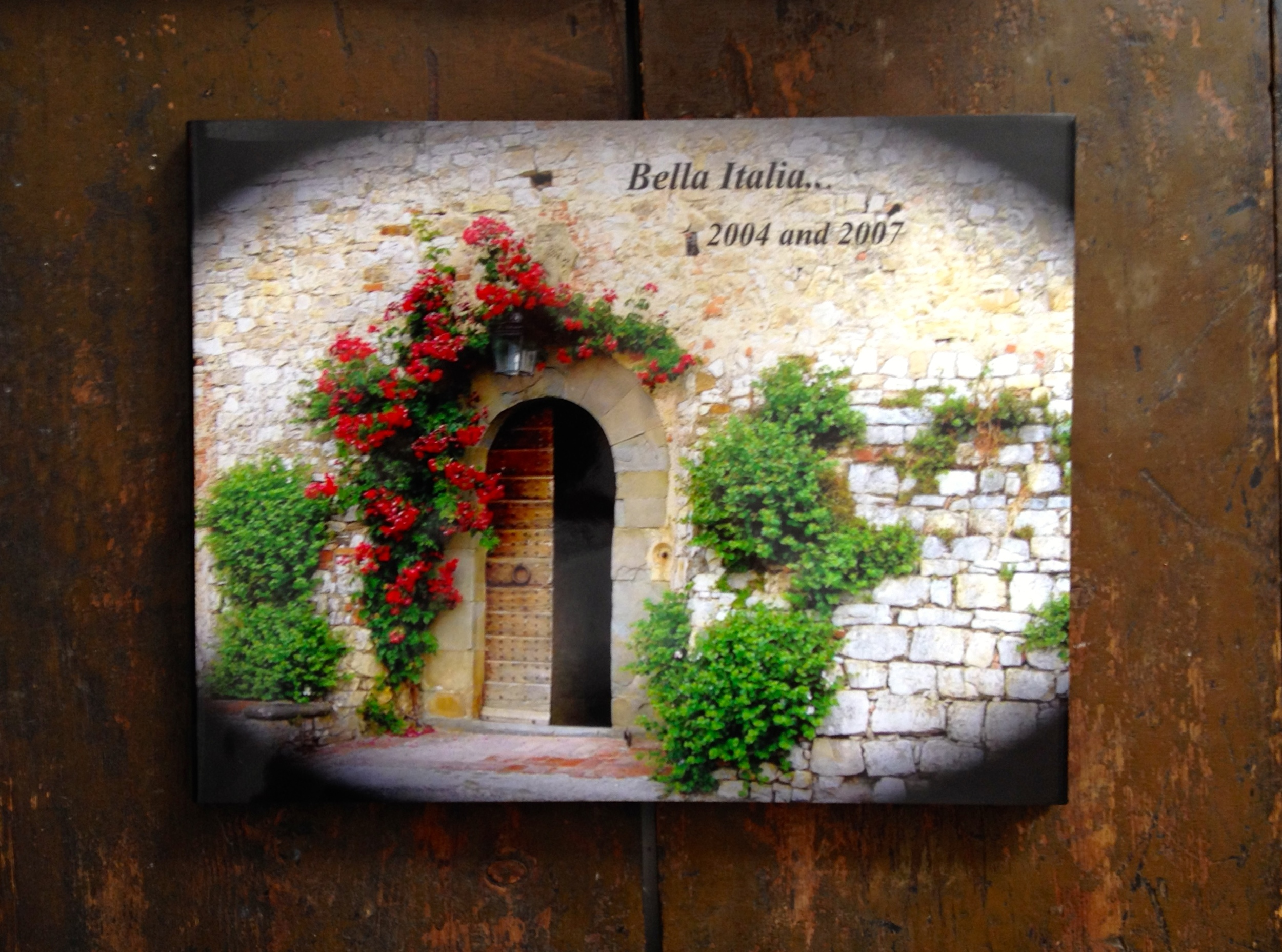One of our photo books from  MyPublisher