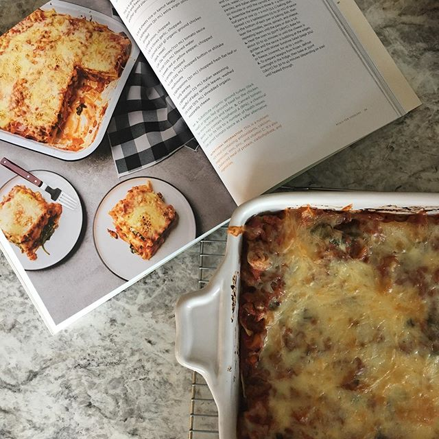 Not sure why I thought making lasagna on a weeknight was a good idea, but the Ultimate Lasagna recipe from @sproutright new book Sprout Right Family Food sounded delicious. #sproutrightfamilyfood #sproutright