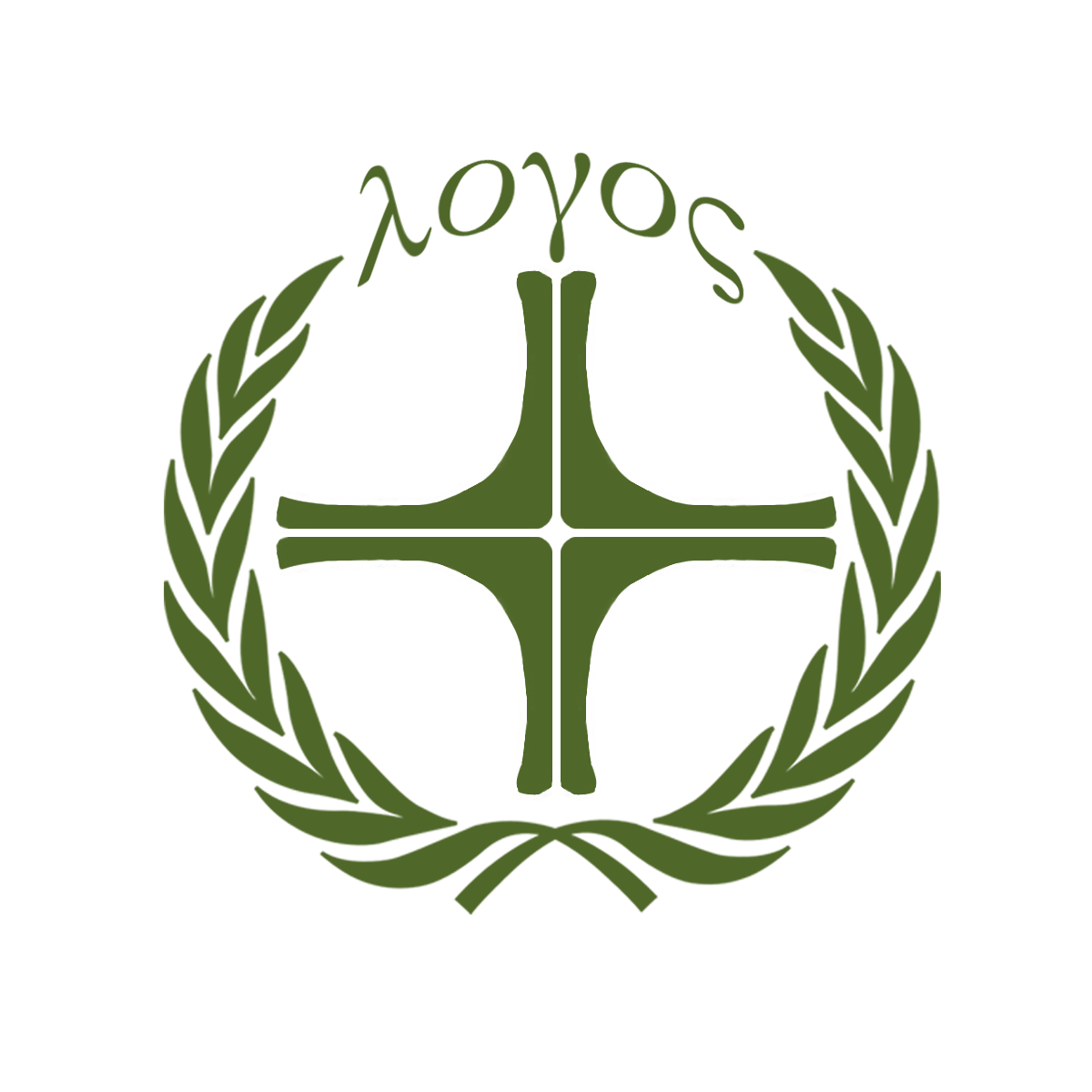 Our logo combines the cross with the laurel wreath, the classical symbol of victory.
