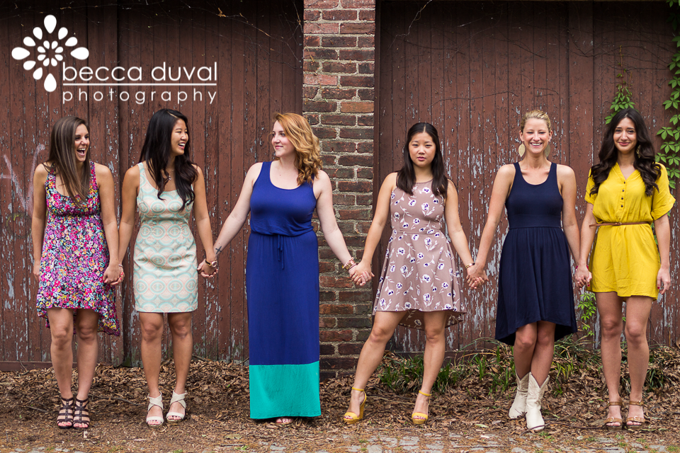 Nothing shows true personalities like a good outtake! These girls have so much fun together :)