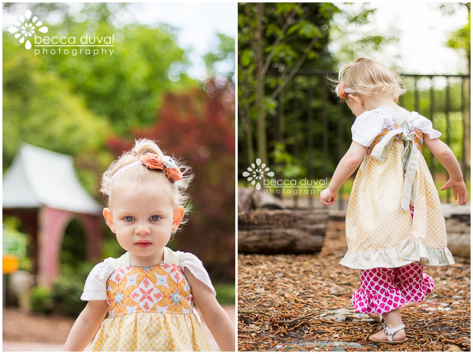 Kaelyn's modified  Lacey apron-top  is made using a beautiful yellow gingham.