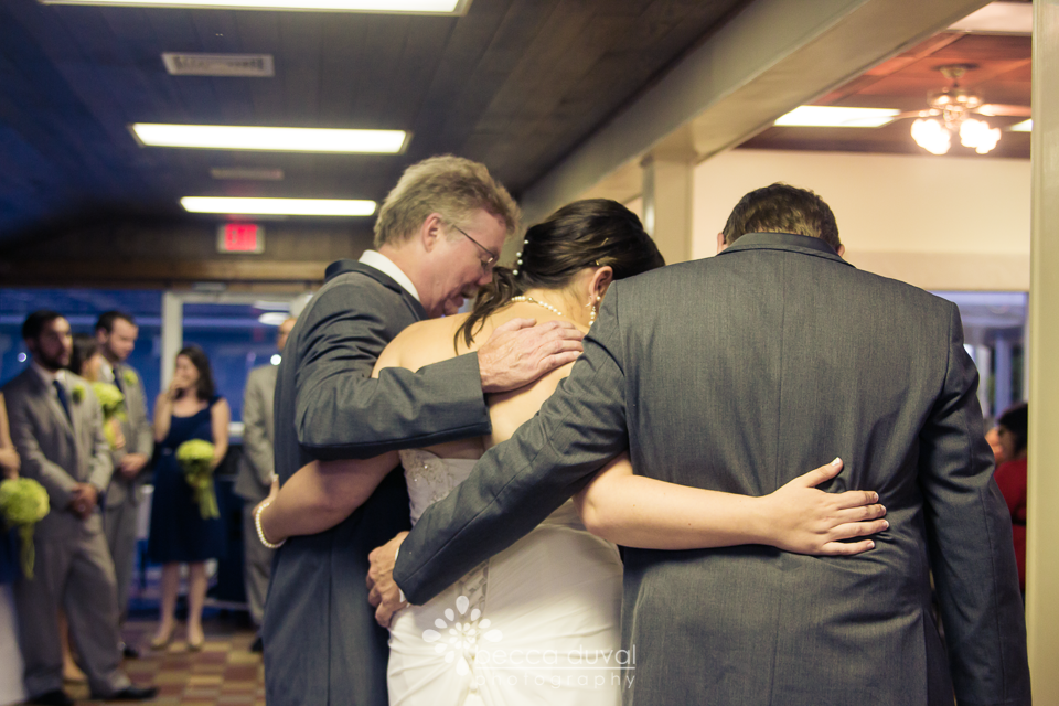 A shared father/daughter dance. Absolutely beautiful!