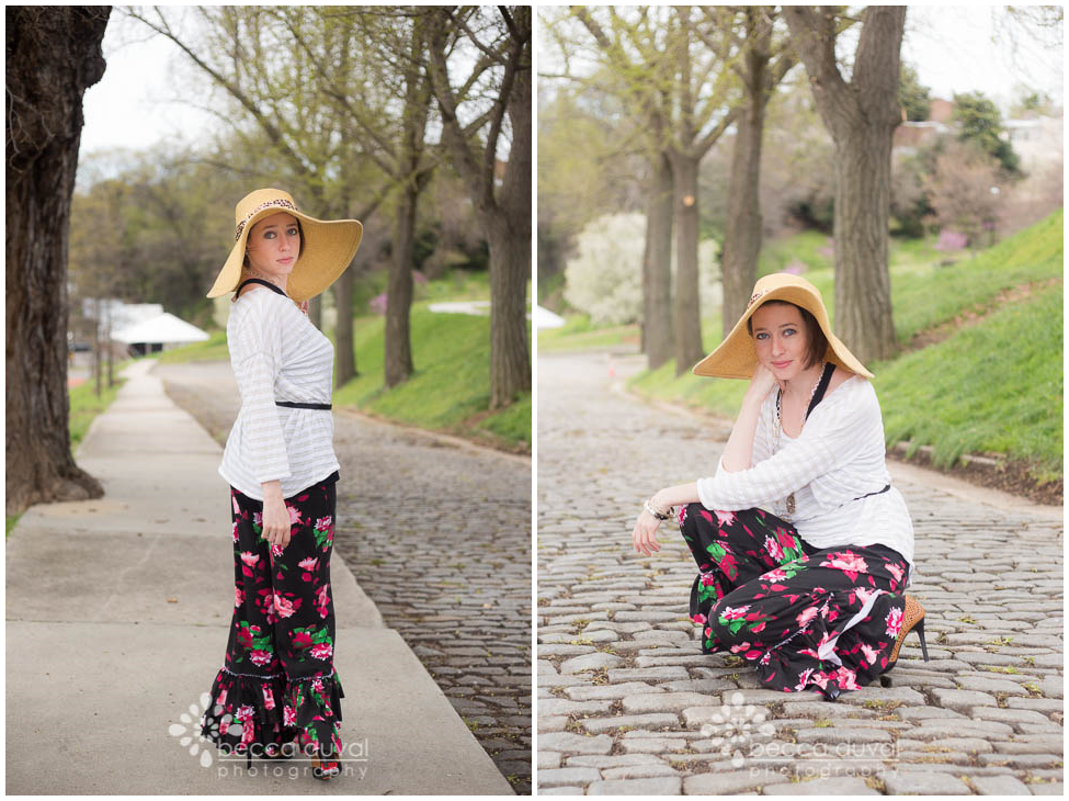 Greenstyle Willow Wide-Leg Ruffle Pants in Girl Charlee Knit | Schwin Day Tripper Top in JoAnns Fashion Knit | Esbe Designs & Stella & Dot Jewelry