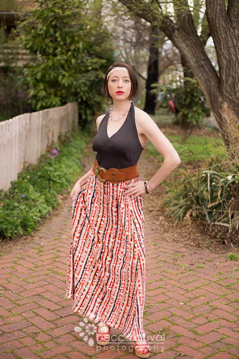 Greenstyle Caroline Maxi Dress  in  JoAnn Fashion Fabrics