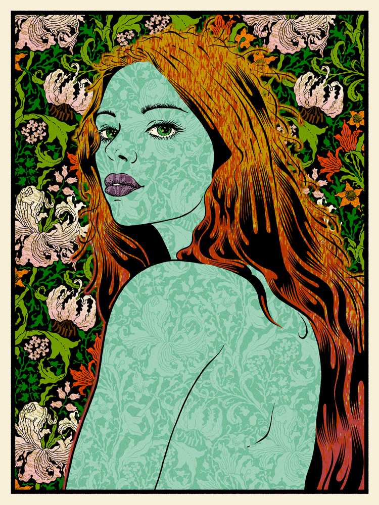 Equity was my first Chuck Sperry big purchase. I grabbed the wood edition of 25 at the Pop Époque – The Art of Chuck Sperry Art Show at Firehouse 8. I had the pleasure of talking to him about this print. He said he wanted to make something that was a little more affordable for everyone. The cost was $300 but compared to some other prints not a bad deal.