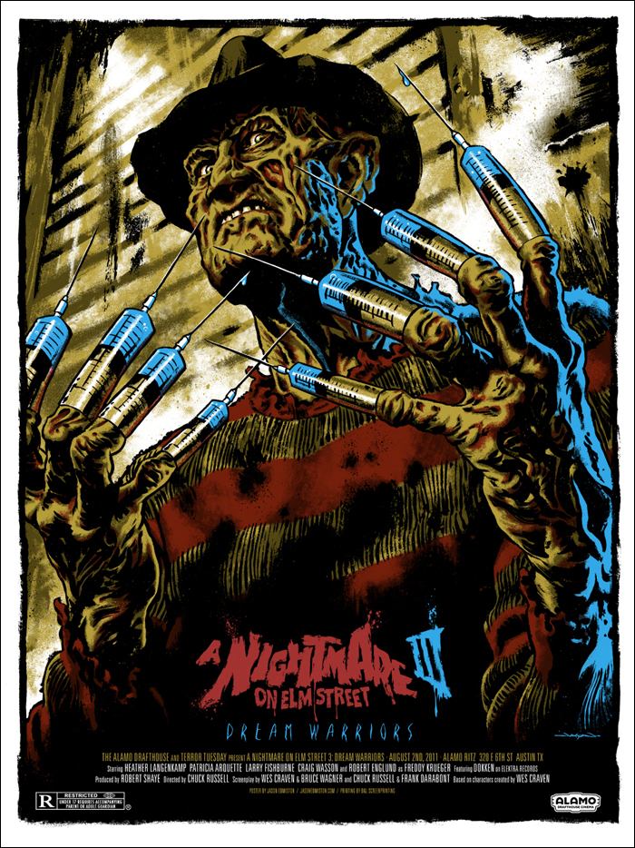 I have to show off my badass poster by Jason  Edmiston