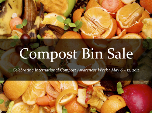Keep Dalton-Whitfield Beautiful is celebrating International Compost Awareness Week by hosting a Compost Bin Sale on May 5 and May 12 at the Downtown Dalton Saturday Market. A limited number of Garden Gourmet Backyard Composters are available.