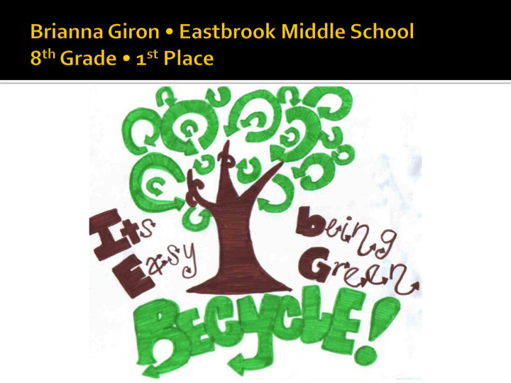 8th Grade - 1st Place