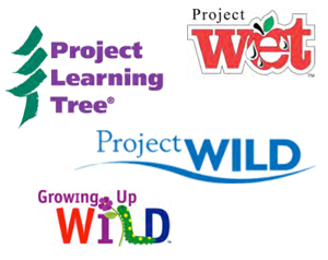 A variety of educational activities are available to enhance what you're doing in school from these award winning environmental education curriculums..