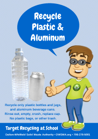 Recycle Plastic & Aluminum