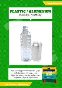 Recycle Plastic Aluminum