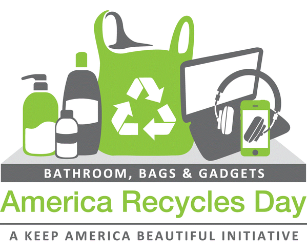 Take a selfie with the item you pledge to recycle and tag it with #IWillRecycle and #sweepstakes on Twitter or Instagram to get a chance to win a refurbished iPad mini 3 from Keep America Beautiful.
