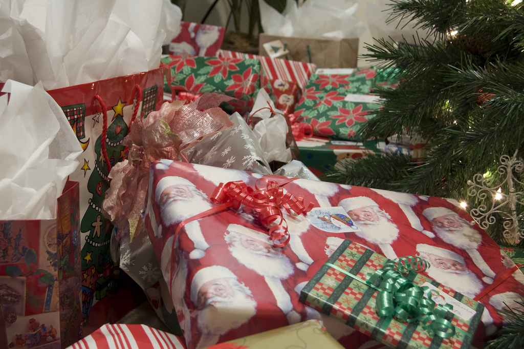 Reusing gift bags and recycling wrapping paper are simple things we can do to reduce waste during the holiday season.