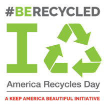 Take the pledge to live the #BeRecycled lifestyle this year at  www.americarecyclesday.org .