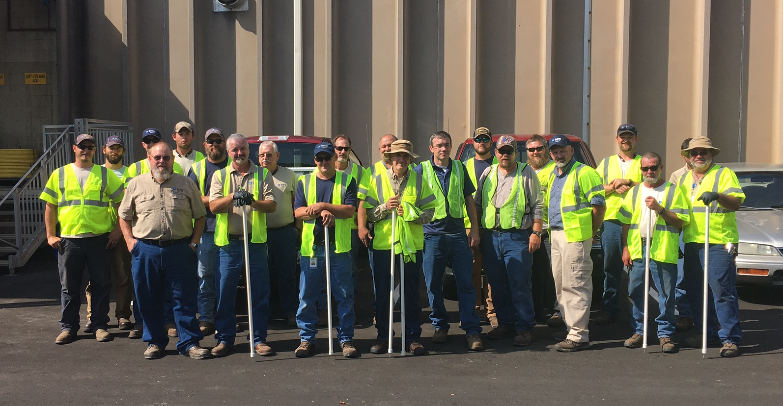 Dalton utilties and oglethope power employees teamed up to clean a mile that they share on a daily basis.