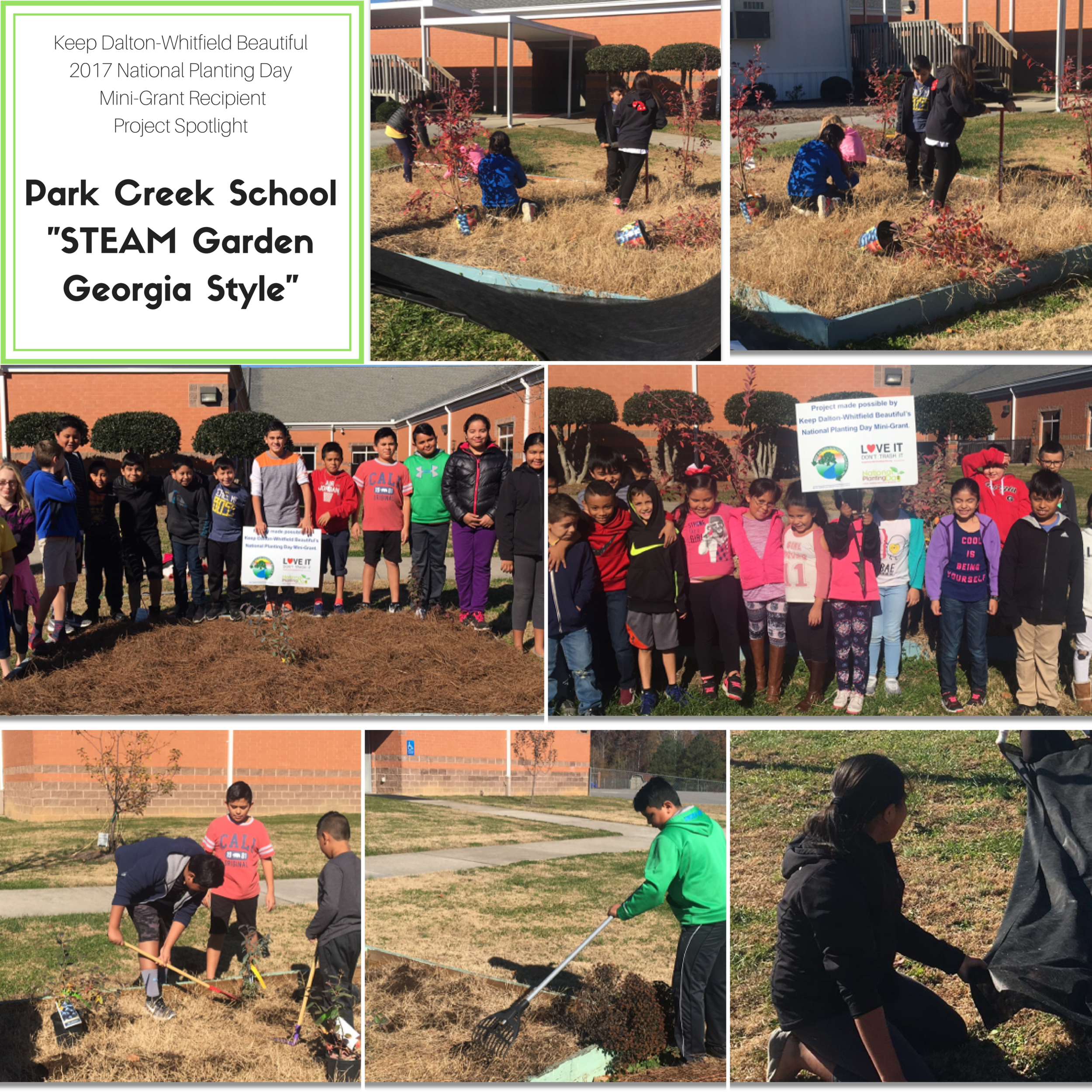 School Beautification Projects — Dalton-Whitfield Solid