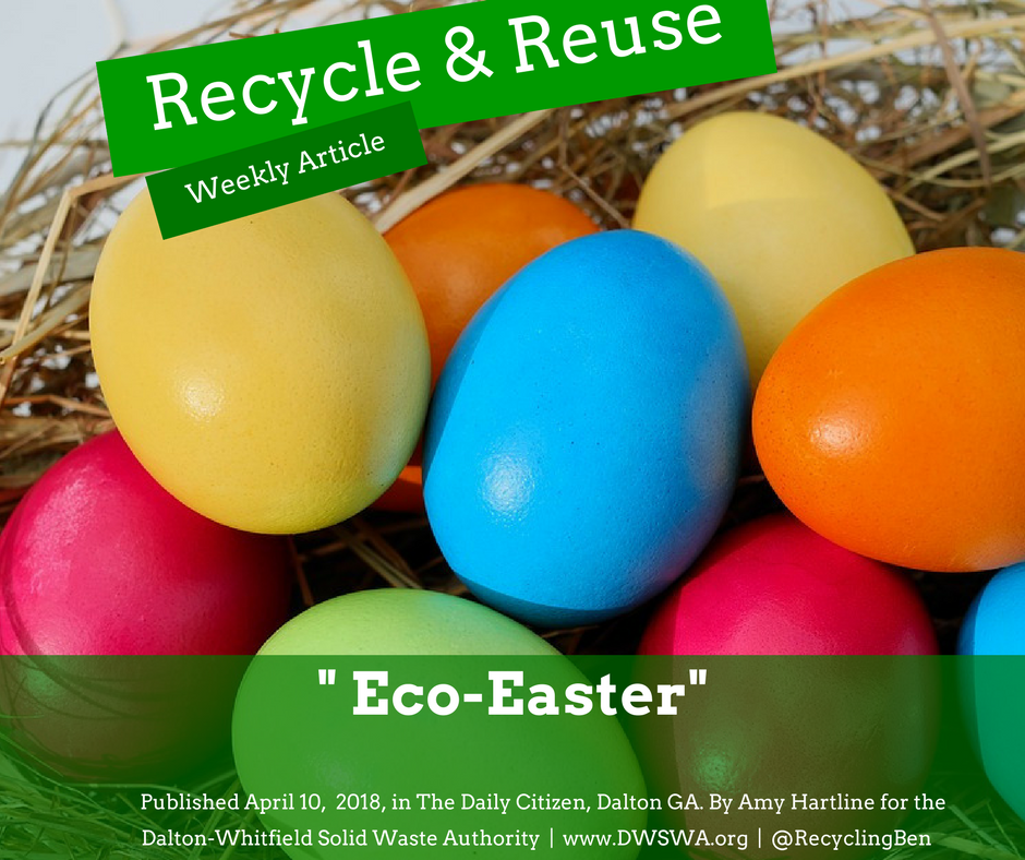 This Easter embrace the warm spring weather by practicing eco-friendly ways to celebrate.