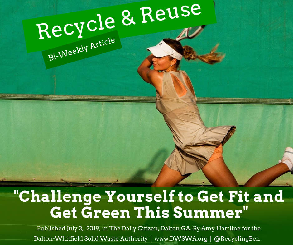Whether you prefer to exercise outdoors or inside, you can a more eco-friendly workout.