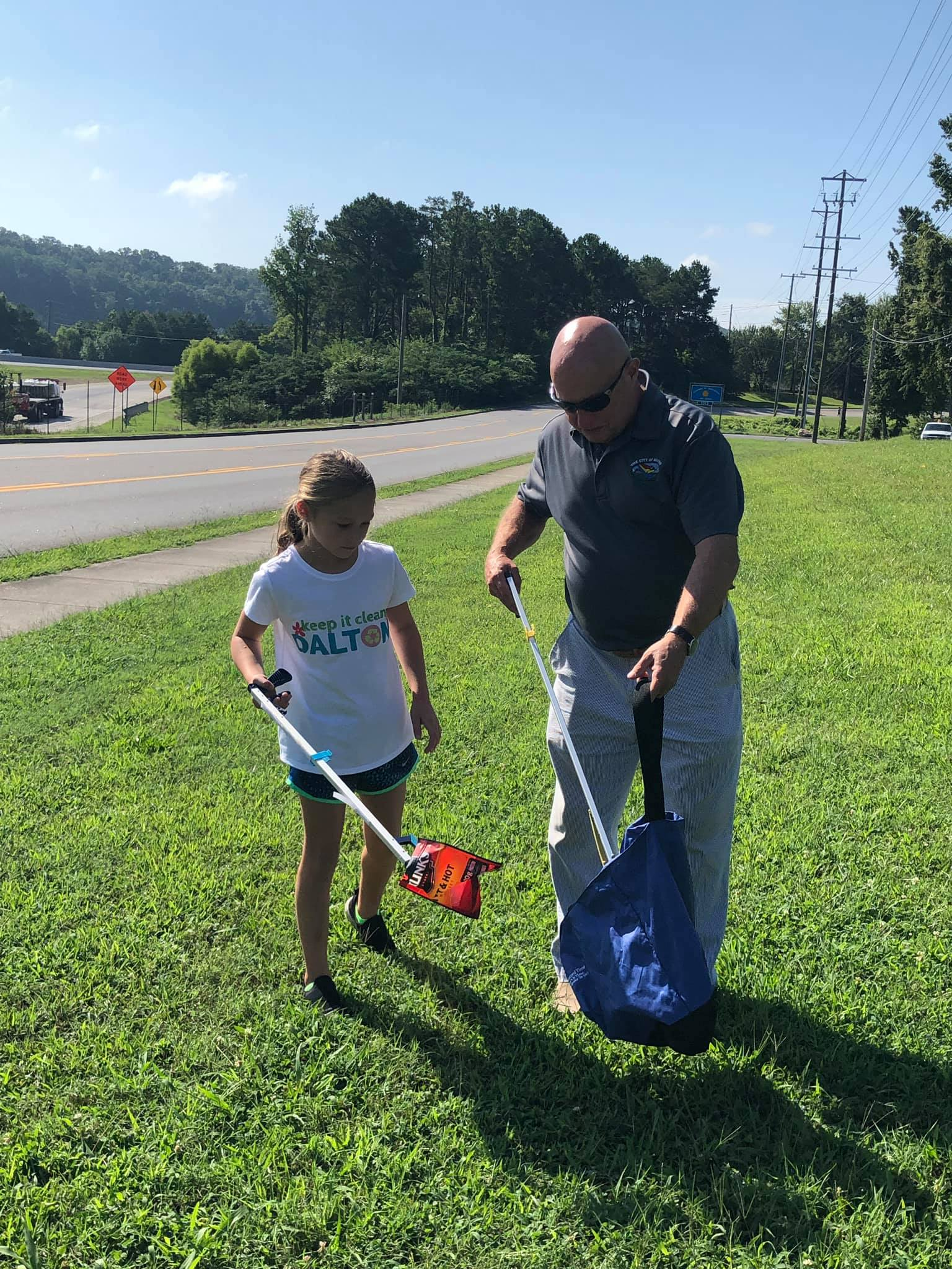Dalton's Mayor Mock and Brookwood student, Emery silvers, are passionate about tackling litter in our city! Join them in cleaning up our town by taking the Keep it Clean pledge and commit to cleaning up one section of dalton just 4 times each year!