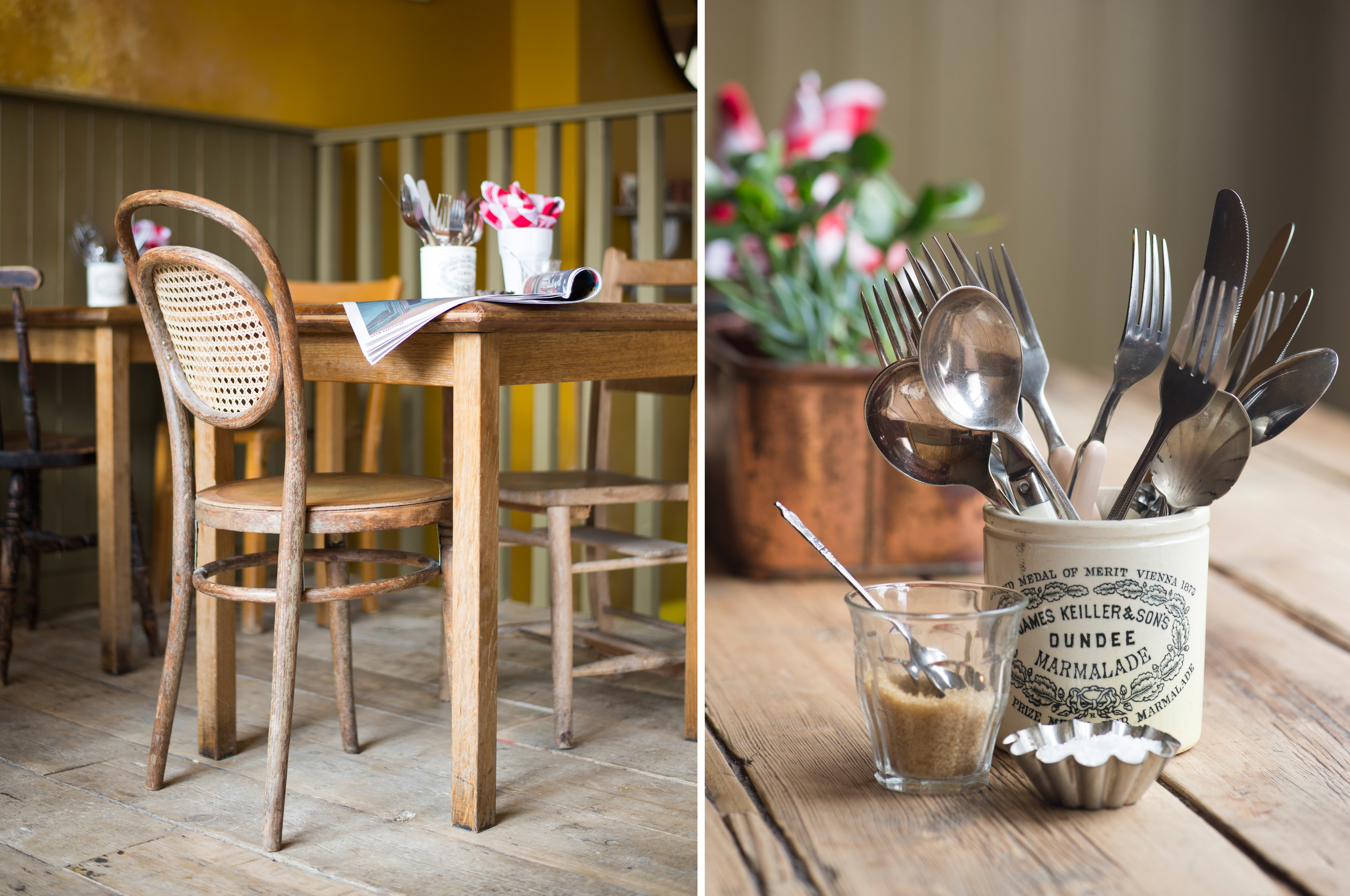 East London cafe interiors photoshoot