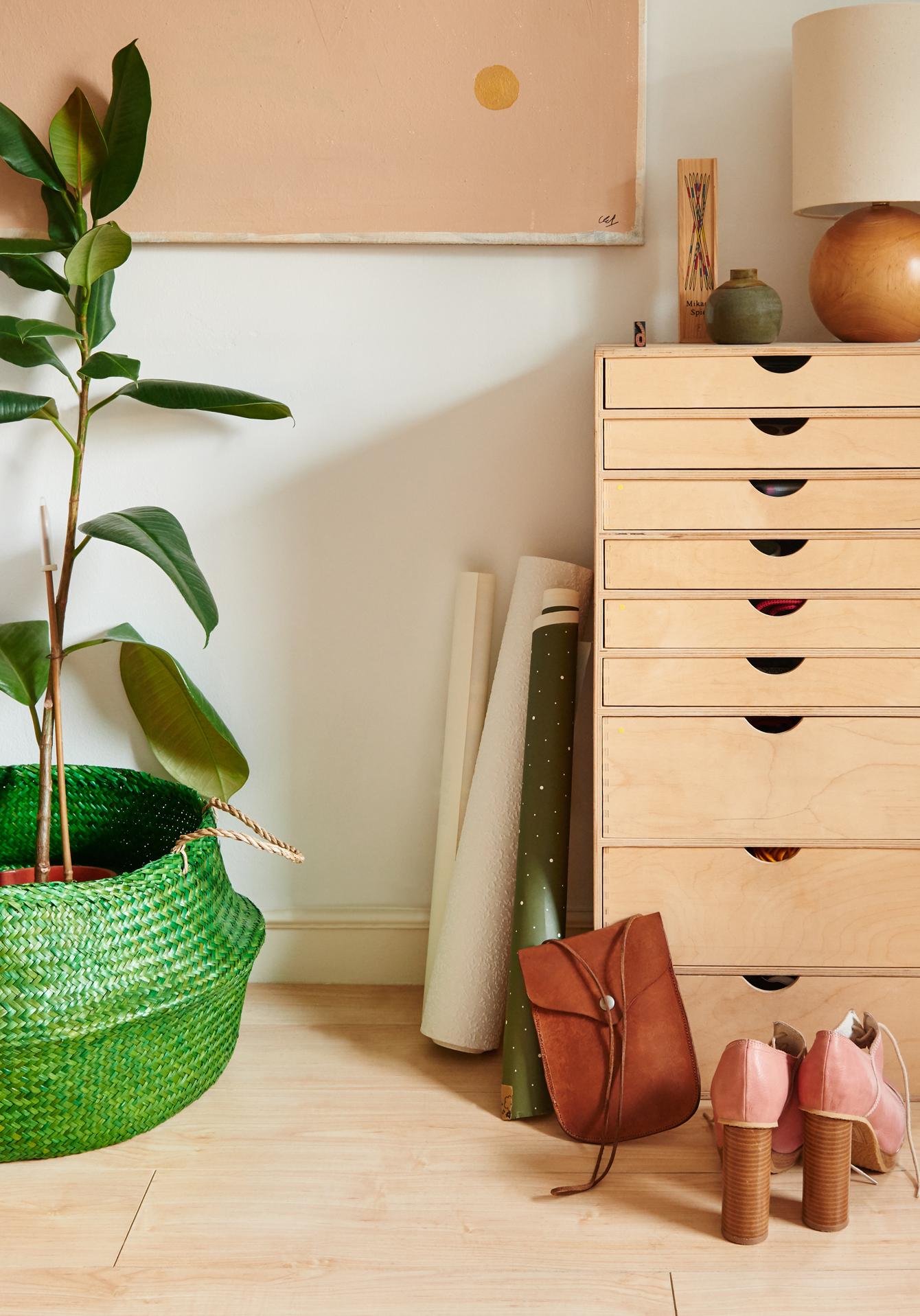 photoshoot of Scandinavian inspired interiors