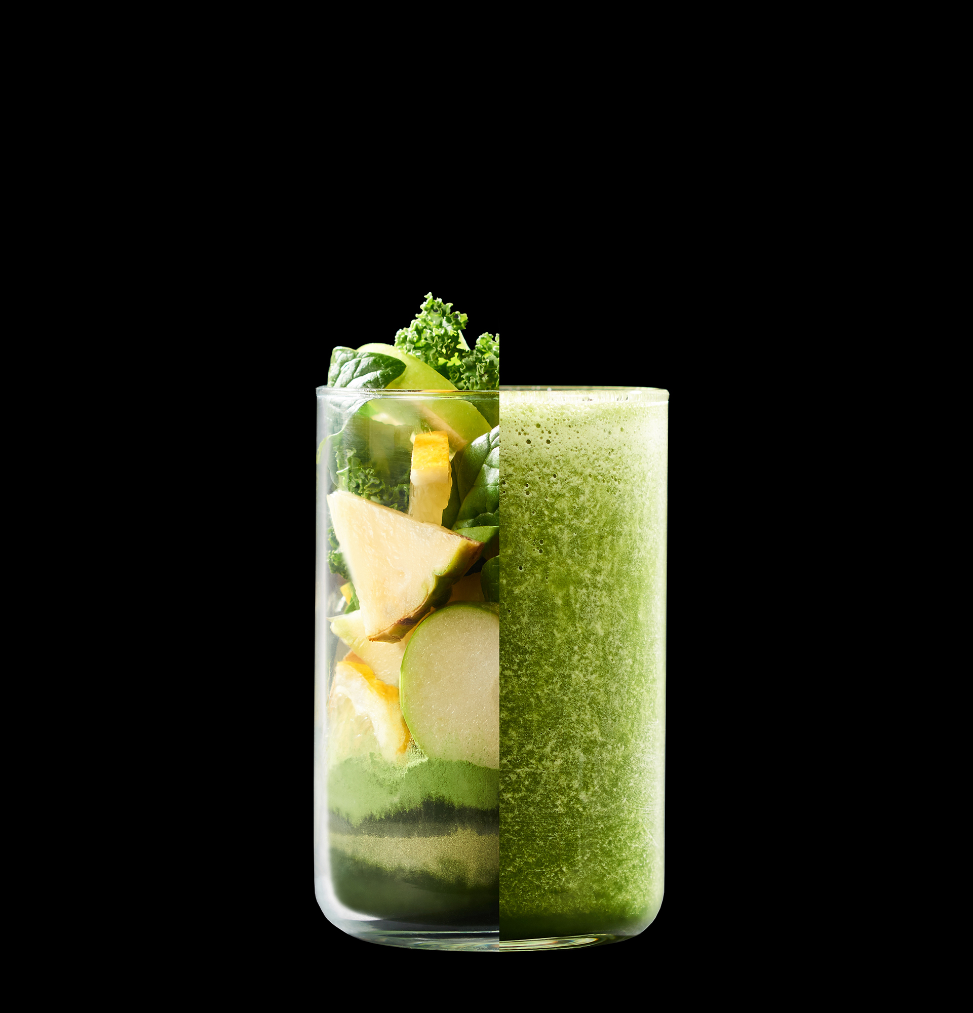 green smoothie drinks photography by Holly Pickering