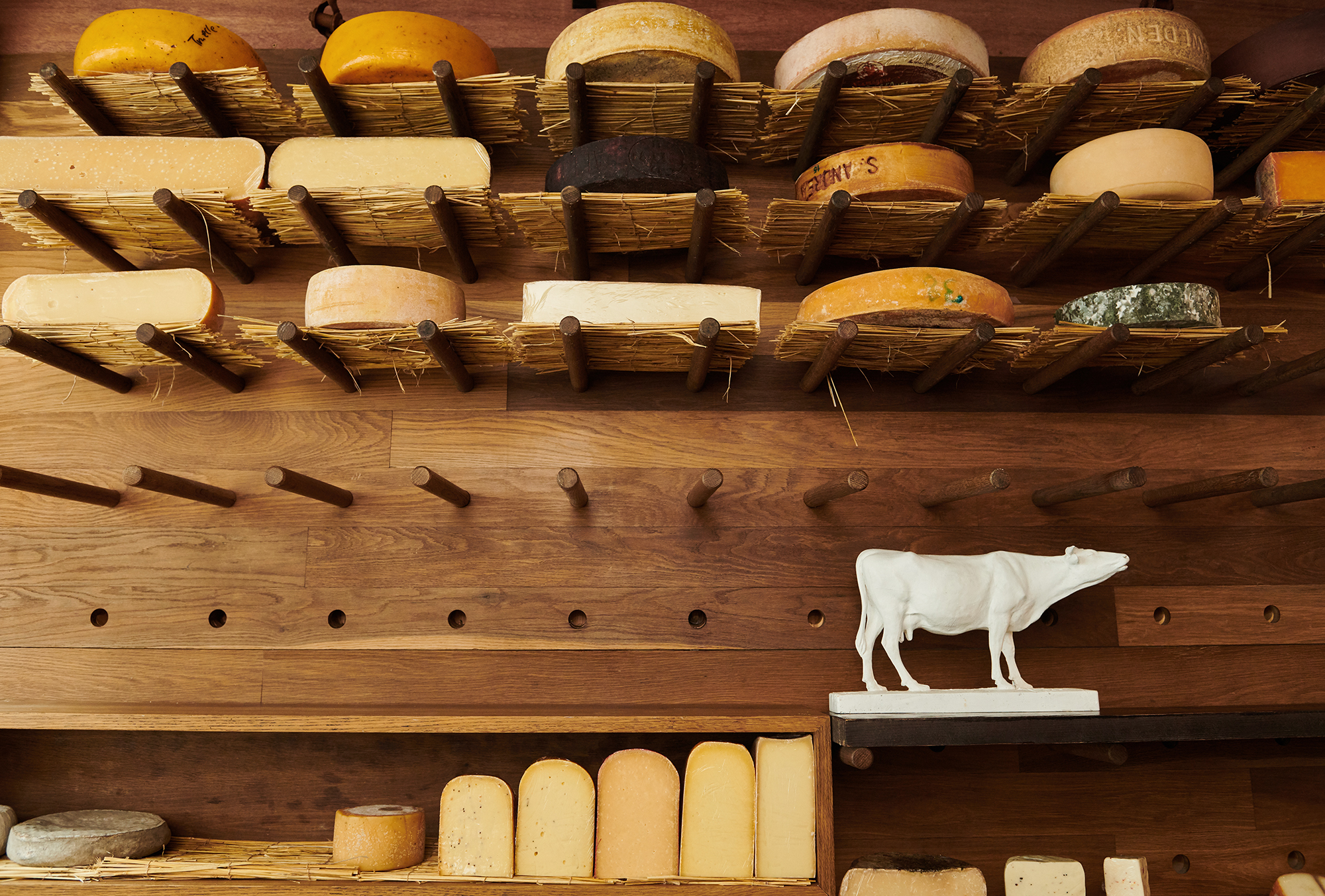 cheese shop interior by London photographer Holly Pickering