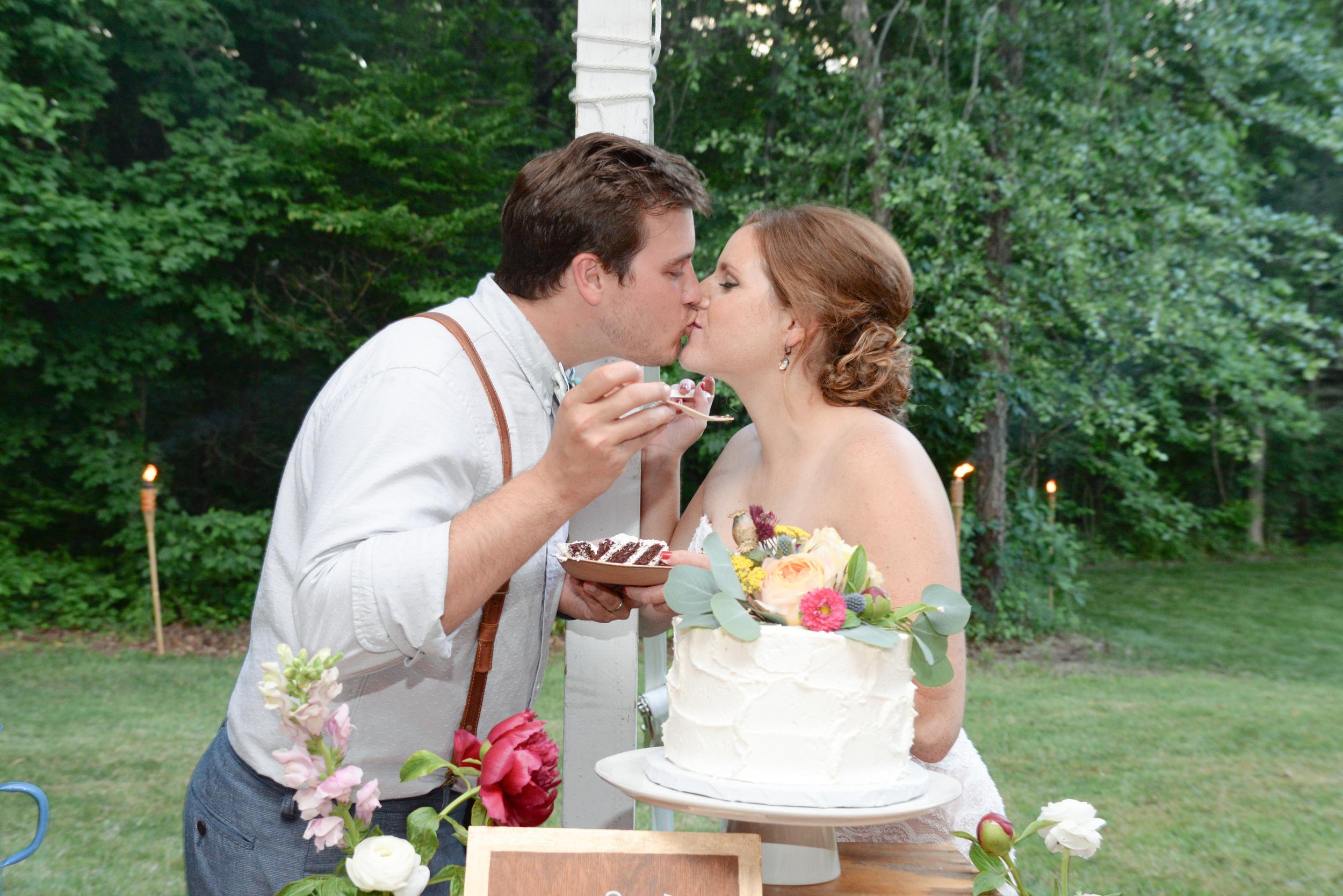 style altard st louis wedding cake