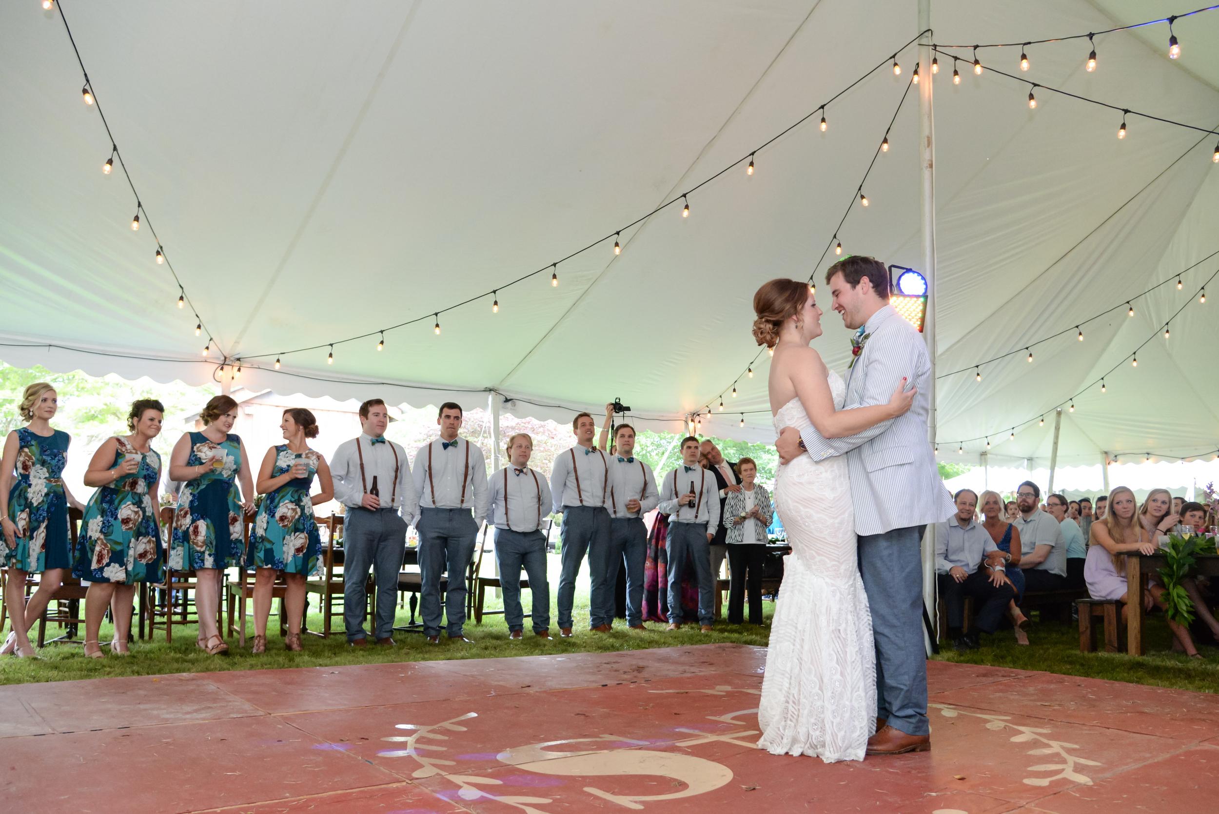 st louis wedding newlywed first dance