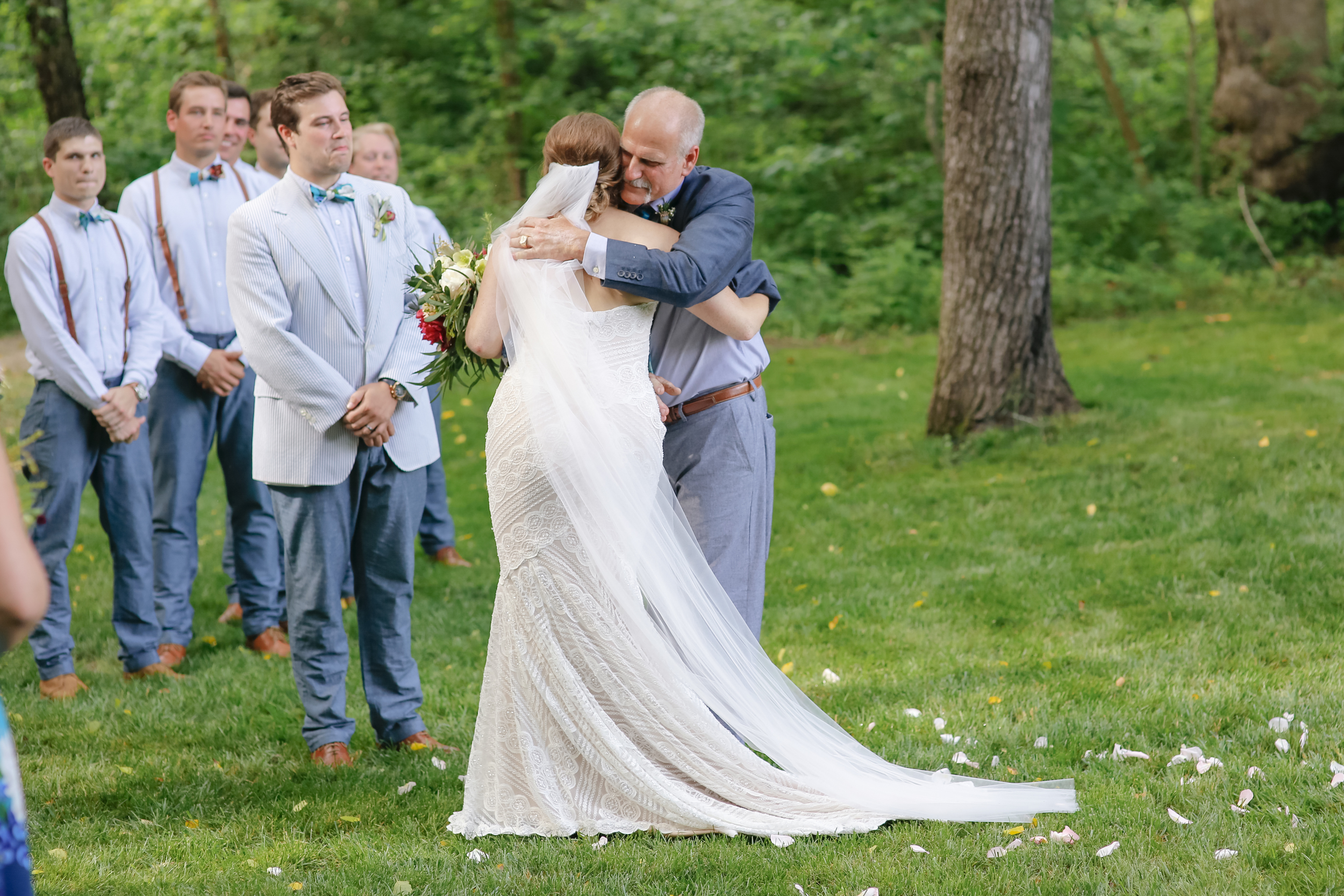 style altard st louis wedding father of the bride