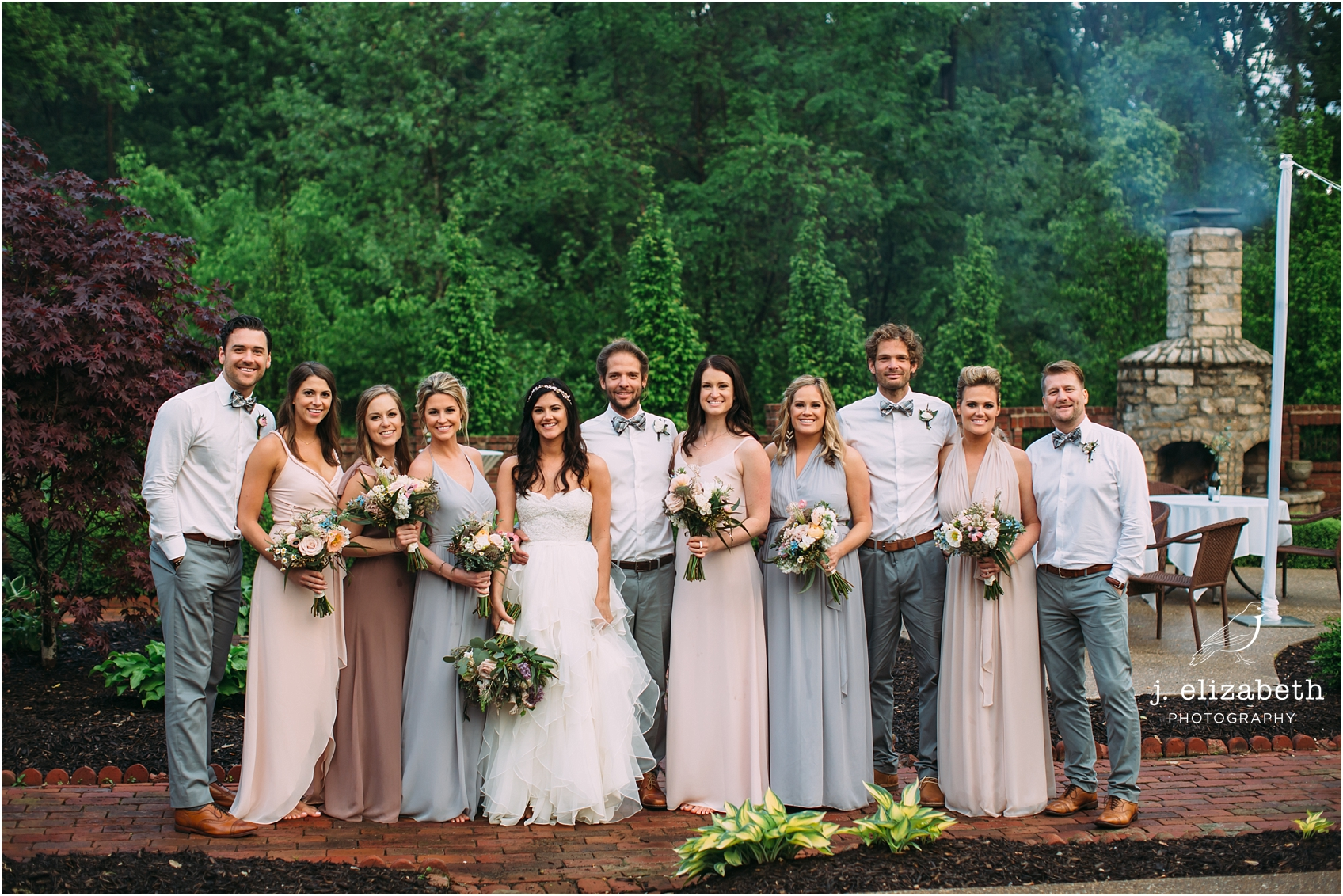 style altard bridal party