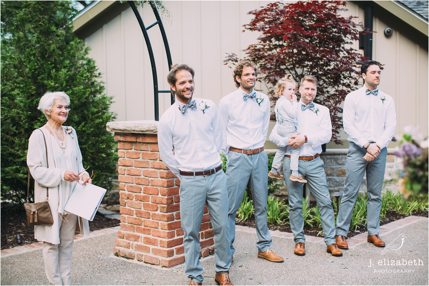 style altard st louis wedding groom happiness
