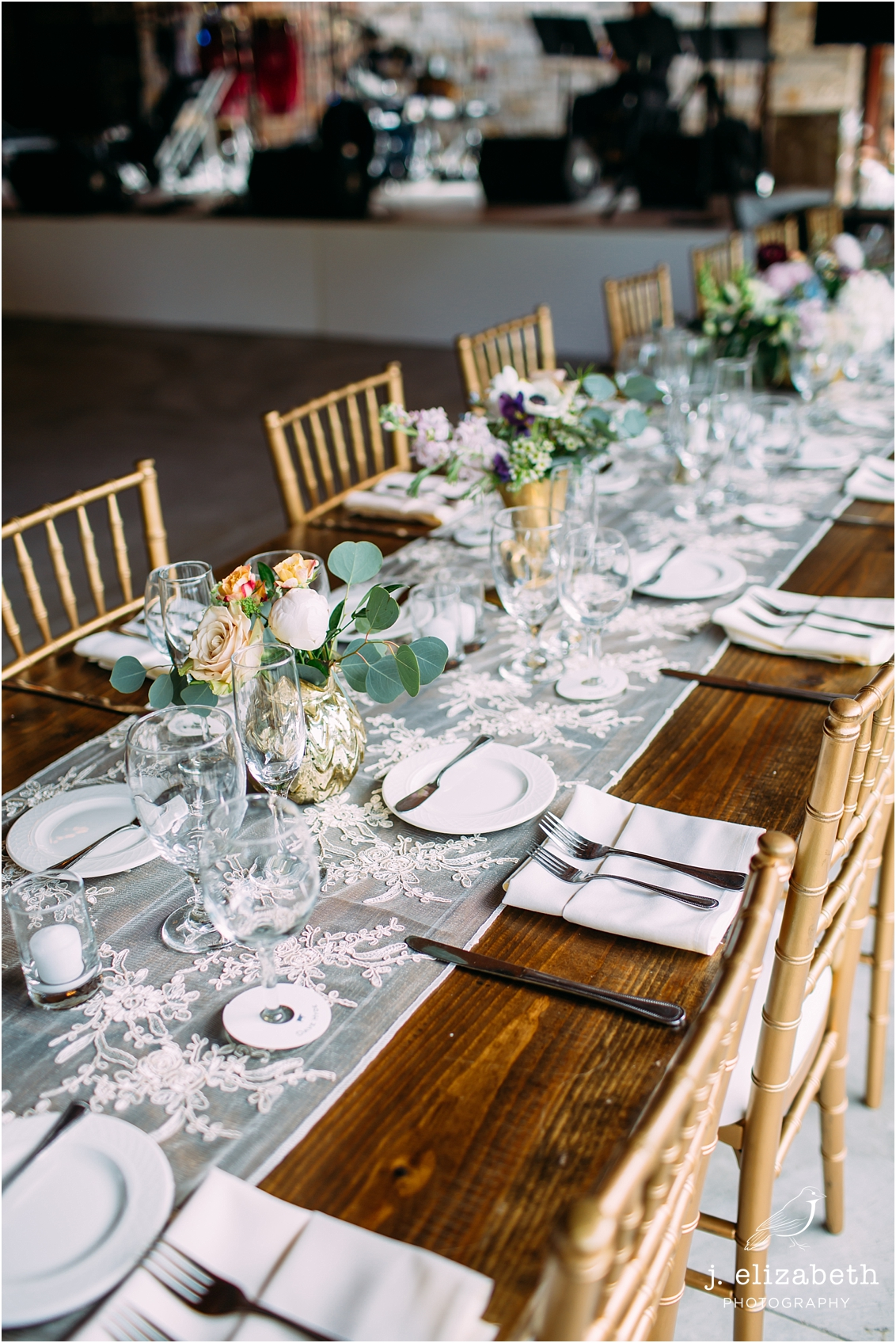 style altard st louis wedding tables cape
