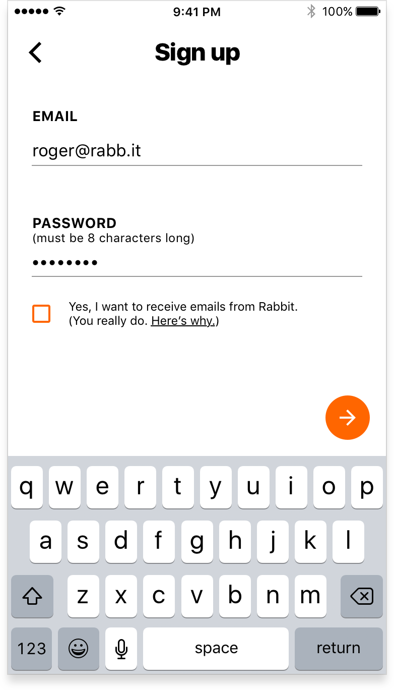 Sign up - email input.png