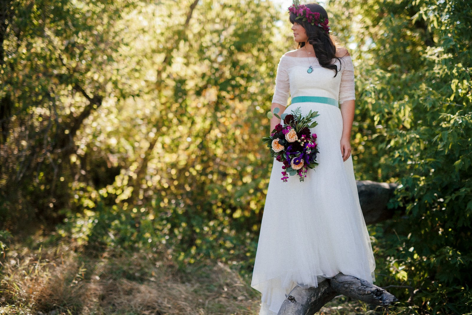 Flowers by Lace and Lilies, jewel tone wedding