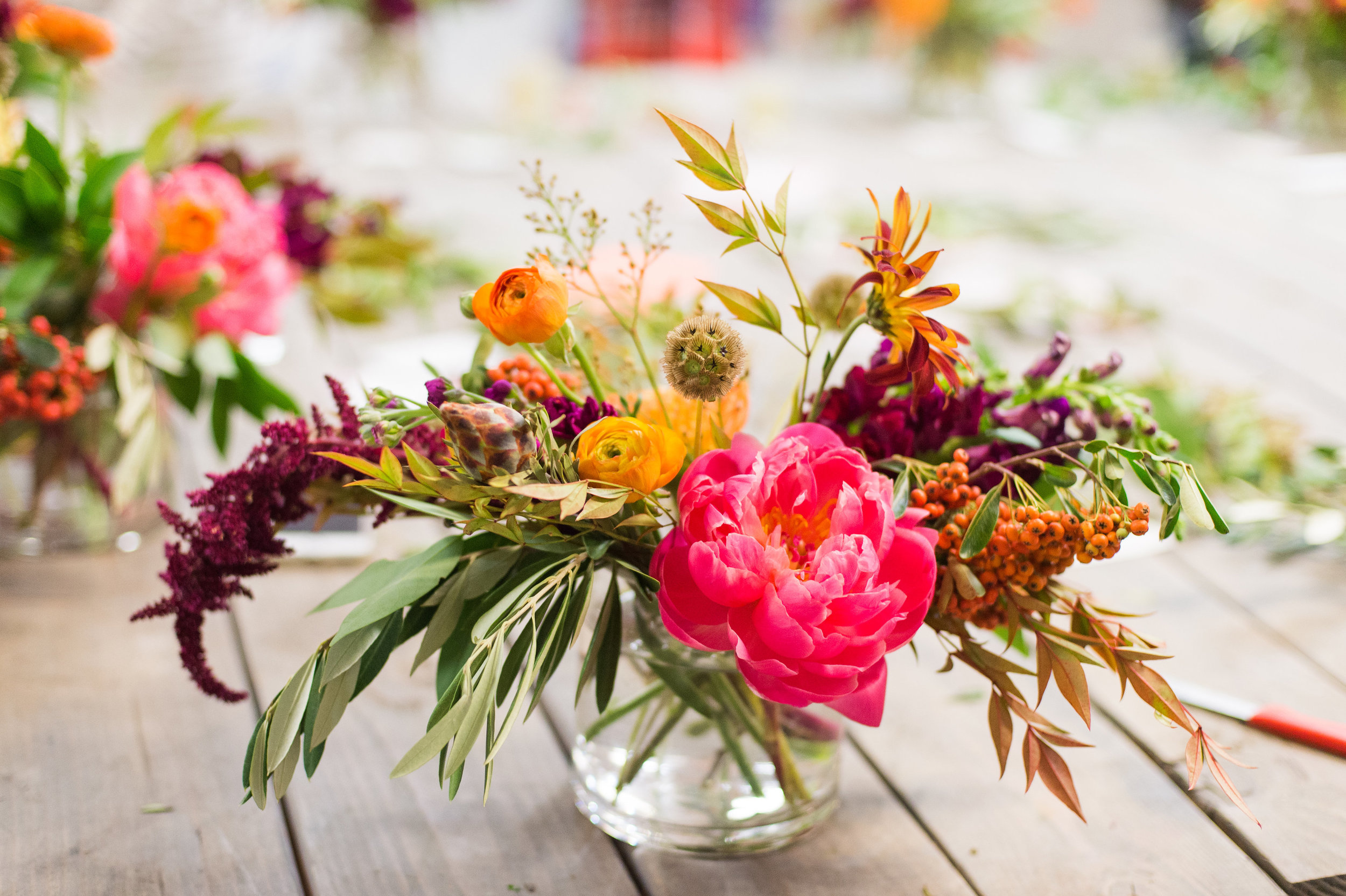Lace and Lilies floral design workshop, fort collins fun