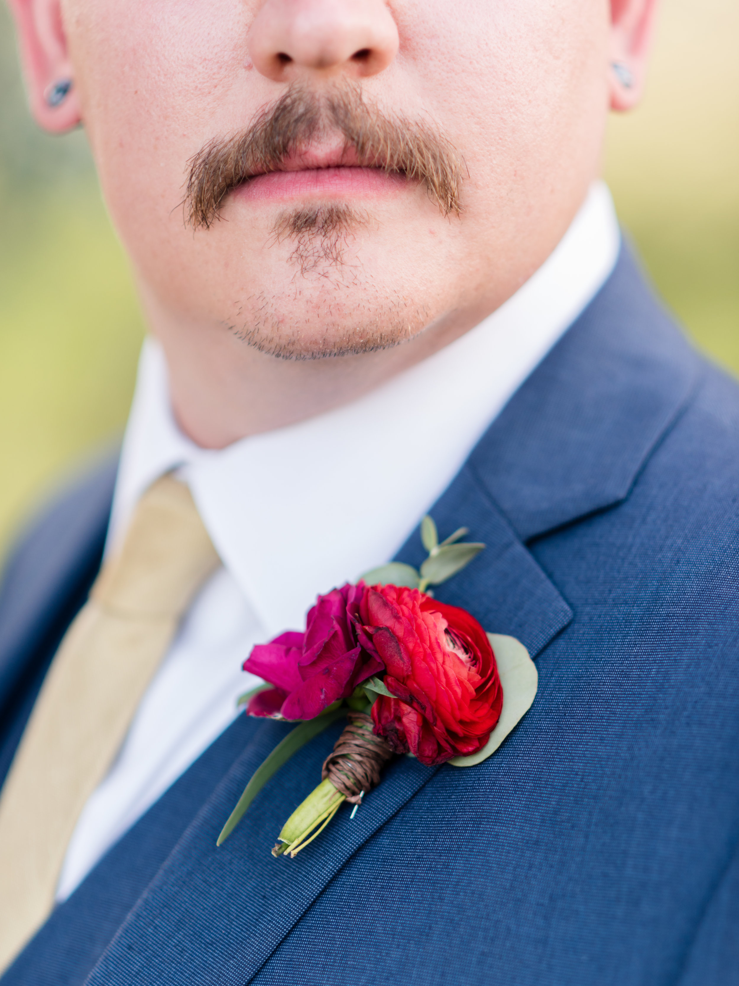 Flowers by Lace and Lilies, Grooms Boutonniere, Pink Flowers, Summer Wedding