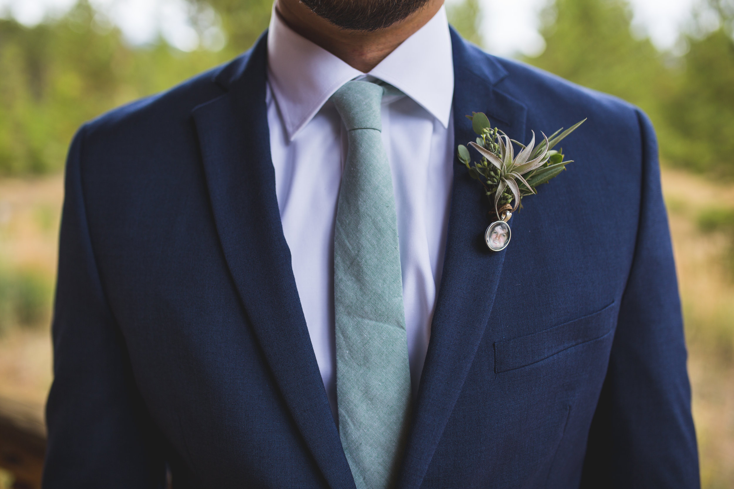 We love how much boutonnieres reflect their unique, personal wedding style.