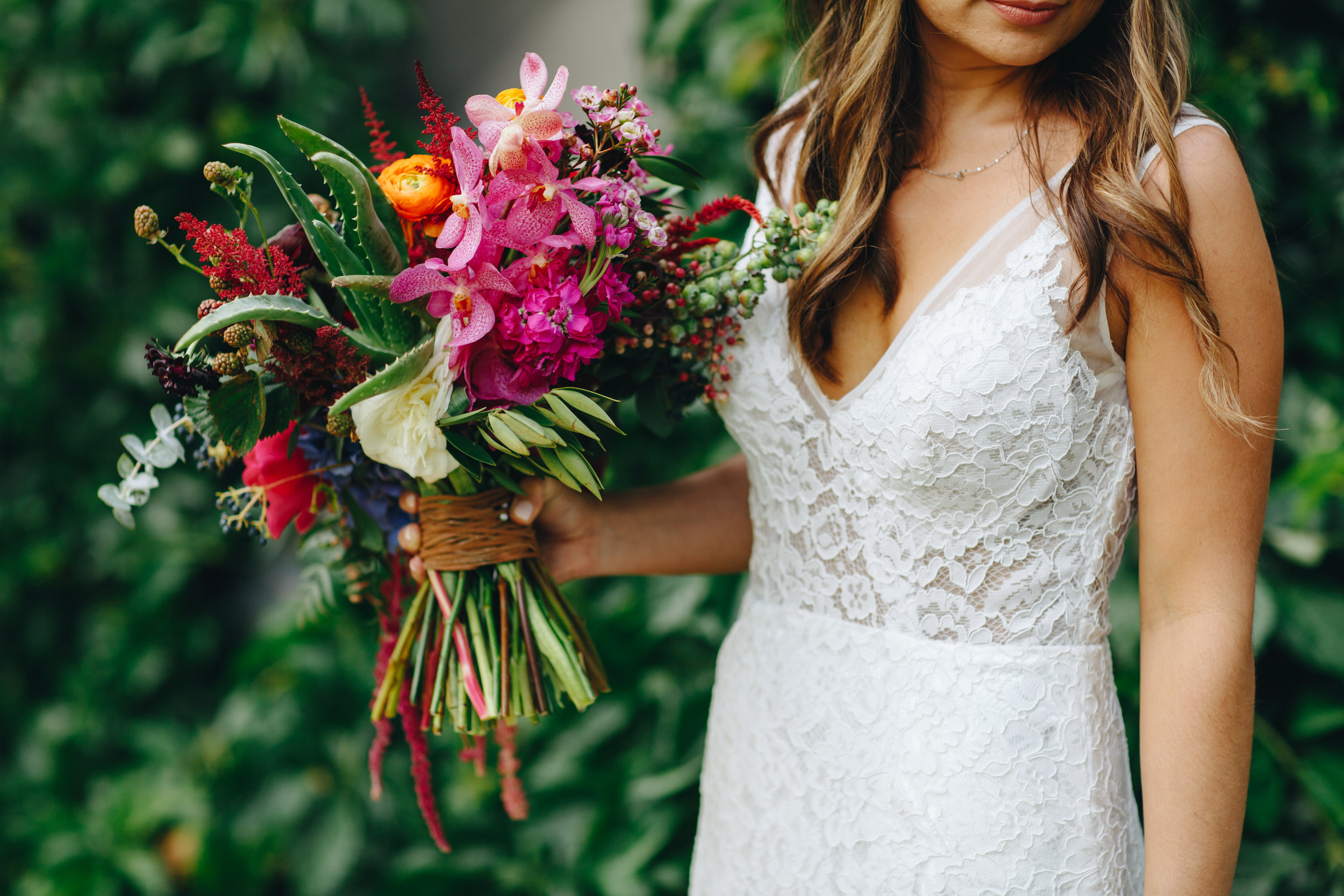 Flowers by lace and lilies, bridal bouquet, jewel toned wedding, berry toned wedding,