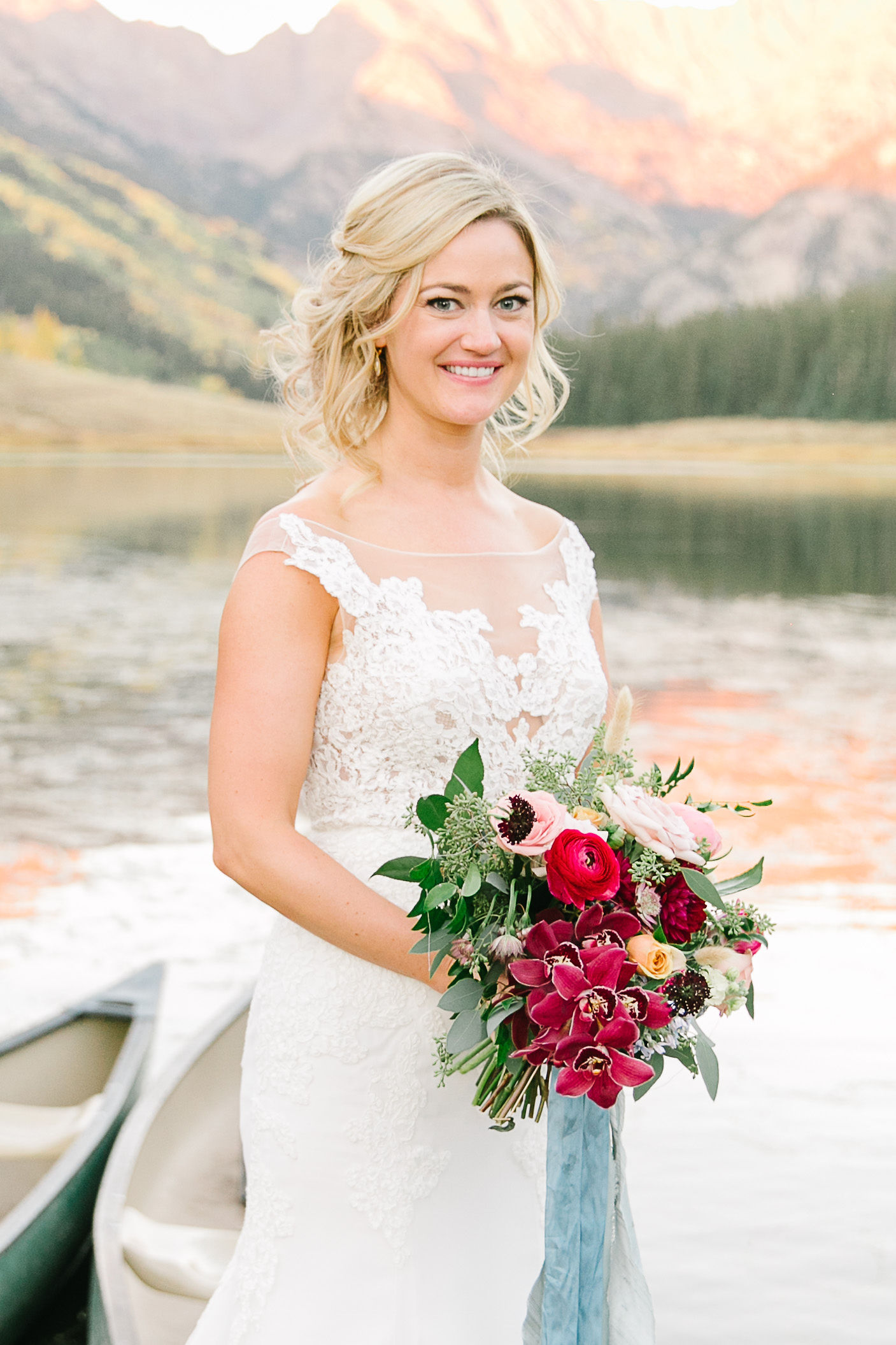 Flowers by Lace + Lilies, wedding flowers, welcome sign, reception flowers, fall wedding, fall flowers, lake wedding, colorado wedding