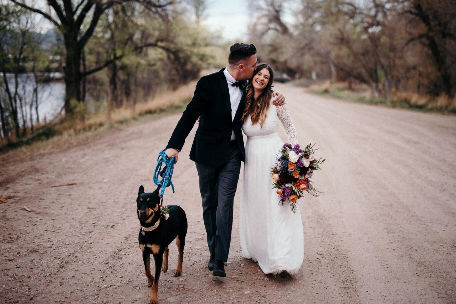 Flowers by Lace and Lilies, elopement, elopement flowers, bridal bouquet, flower crown, boutonniere, rocky mountains, colorado elopement,