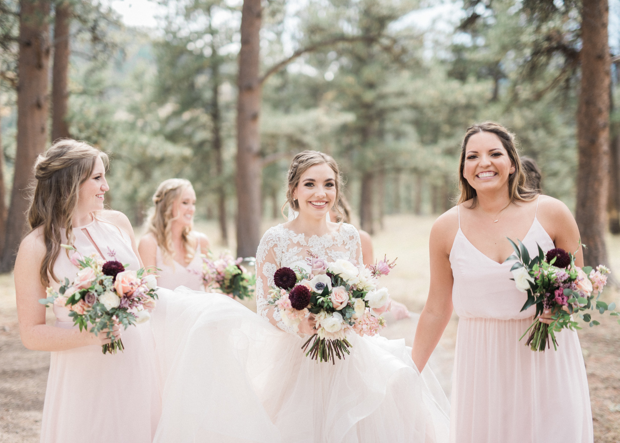 Flowers by Lace and Lilies, first look, wedding flowers, bridal bouquet, boutonniere, wedding photography, burgundy flowers, eucalyptus