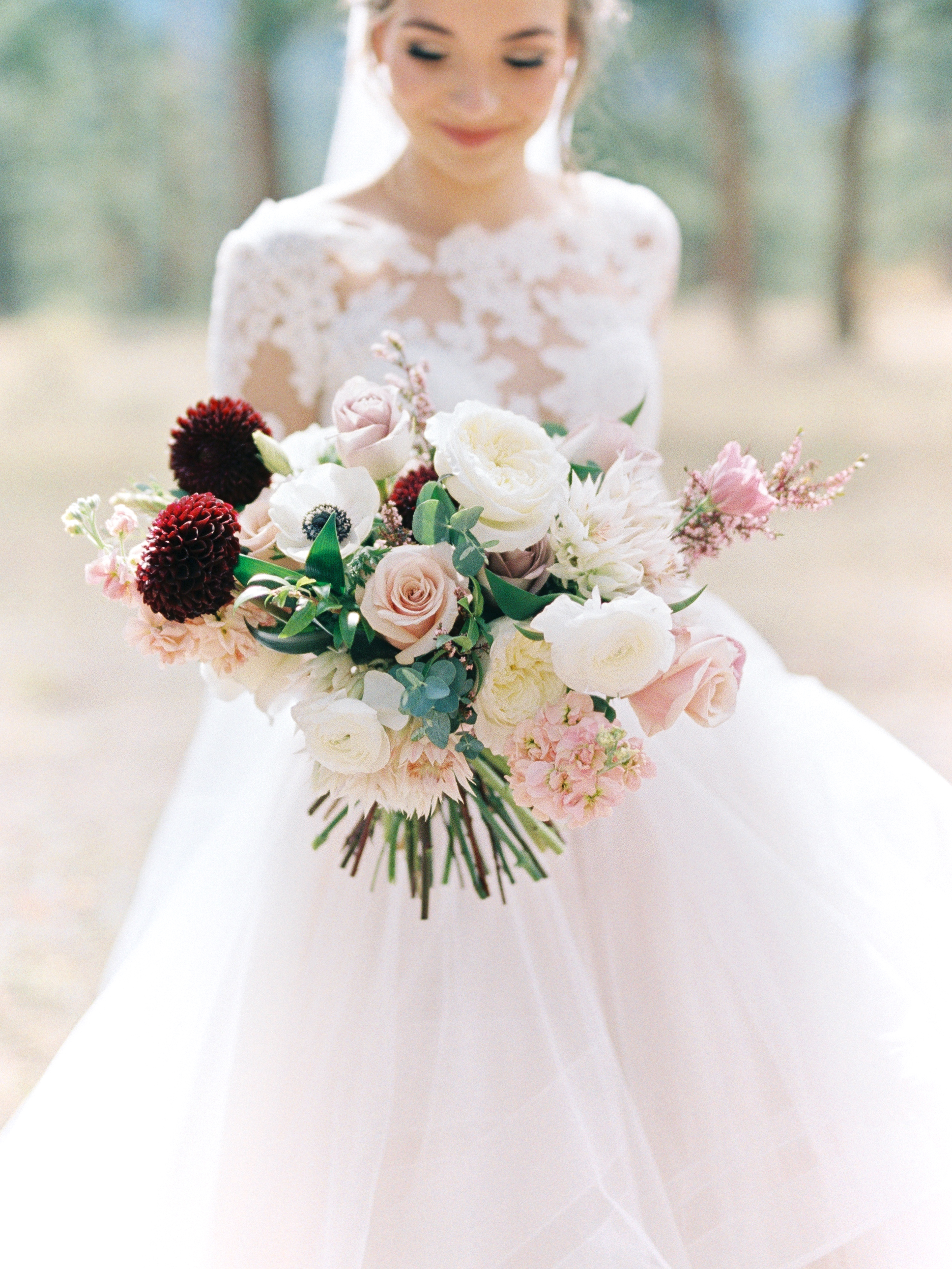 Flowers by Lace and Lilies, bridal bouquet, blush bridesmaid dresses, military wedding, blush flowers, burgundy flowers, mountain wedding, wedding photography, wedding flowers, bridal party
